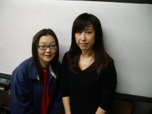 平田課長と久貝さん