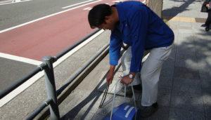 CSRビル周辺清掃活動